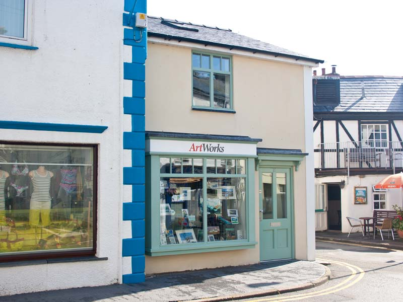 New Gallery in Aberdyfi Built by Dyfi Renovations Ltd