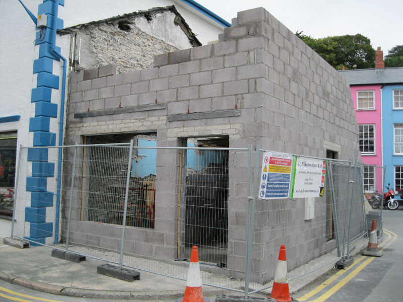 Work begins on new building